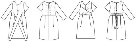 Meridian Dress Sewing Pattern - Papercut Patterns
