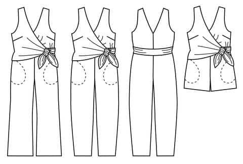 Sierra Jumpsuit Sewing Pattern - Papercut Patterns