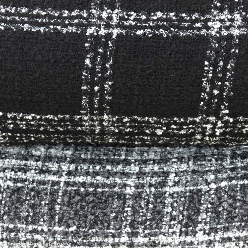 Boucle Wool Fabric- Grey