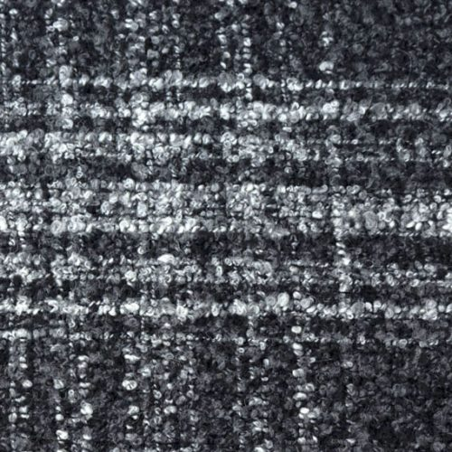 Boucle Wool Fabric- Grey