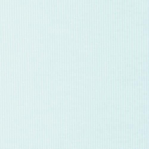 Organic Cotton Poplin Stripe Dress Fabric- Cloud Blue