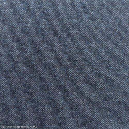 Wool Tweed Blue Heather