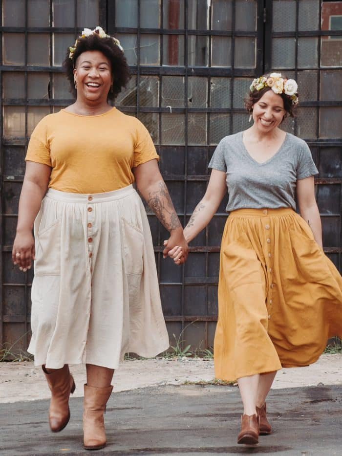 Estuary Skirt Sewing Pattern by Sew Liberated