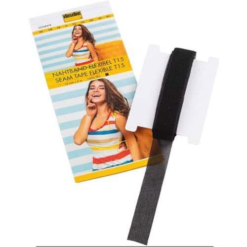 Vilene Flexible Seam Tape T15 BLACK