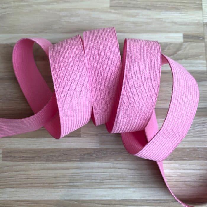 Coloured Elastic 20mm - Pink