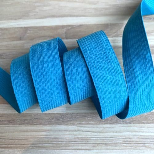 Coloured Elastic 20mm - Turquoise