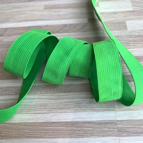 Coloured Elastic 20mm - Lime