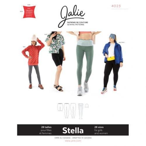 Stella Leggings, Running Belt & Beanie Pattern - Jalie .