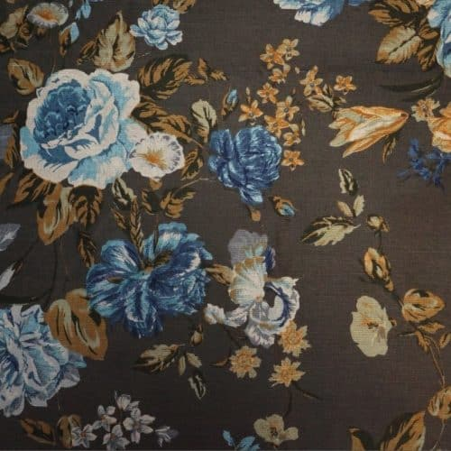 Floral Rennainssance - Khaki