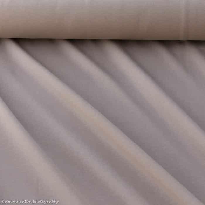 Organic Sweatshirt Jersey - Taupe