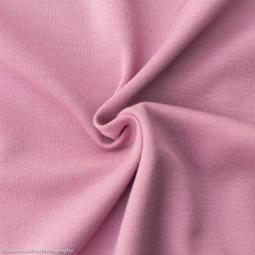 ponte roma fabric dusky pink