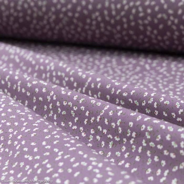 floral ditsy print cotton