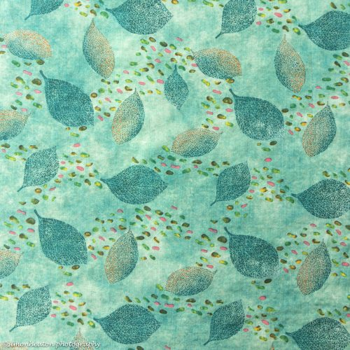 Cotton Viscose Dress Fabric - Green