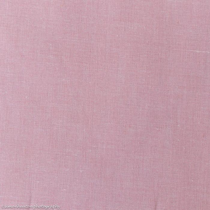 Cotton Chambray Poplin Dress Fabric - Light Pink