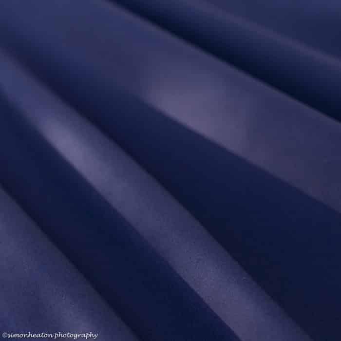 french navy cotton poplin
