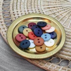 matte buttons