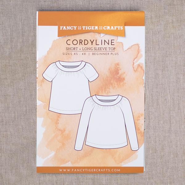 Fancy Tiger Crafts Sewing Patterns - Cordyline Top