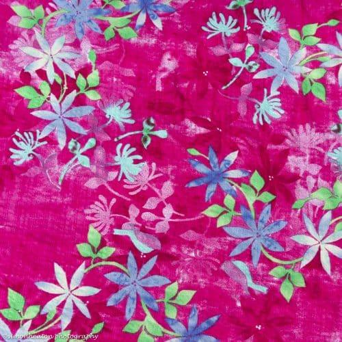 Cotton Viscose Dress Fabric - Bali Pink