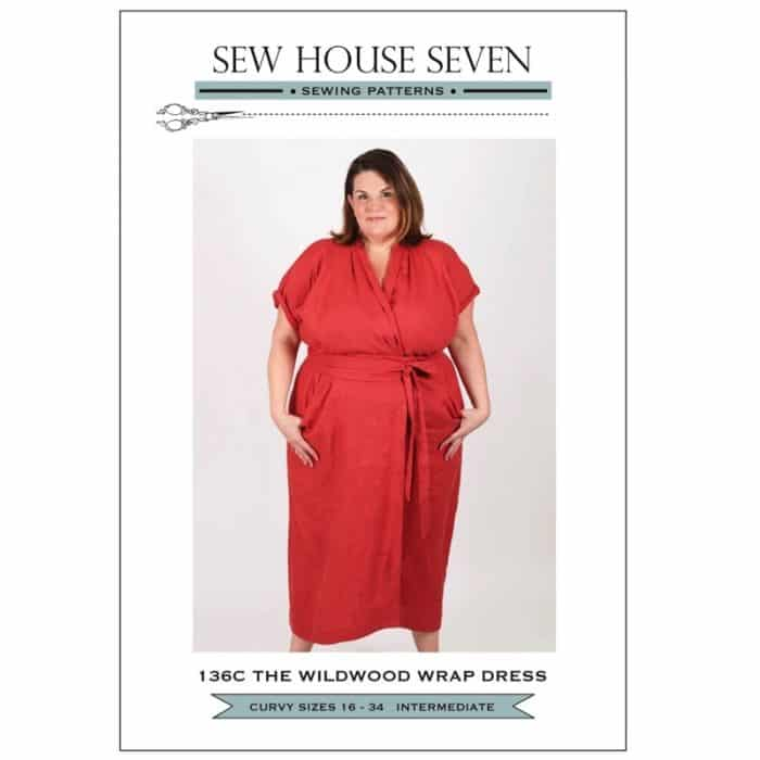 Sew House Seven - The Wildwood Wrap Dress Sewing Pattern (Curvy Fit)