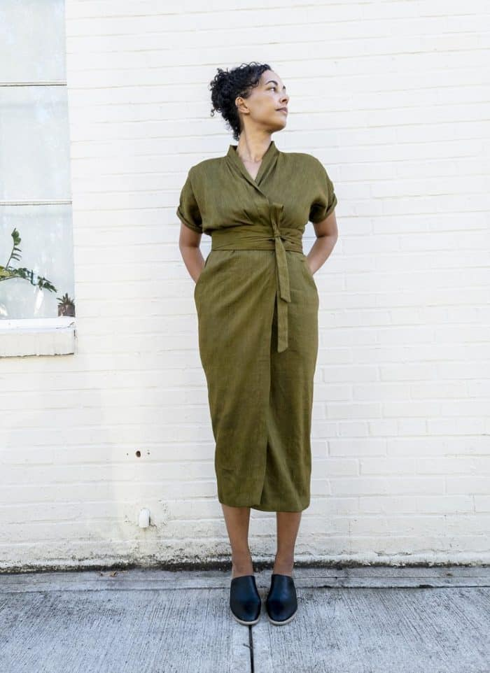The Wildwood Wrap Dress