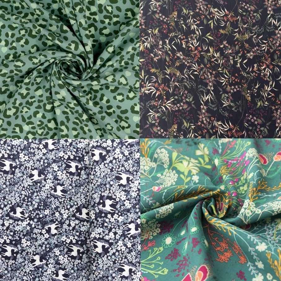 Woven viscose dress fabrics for buffet dresses