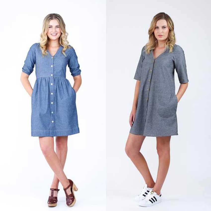 Megan Nielsen Darling Ranges Dress