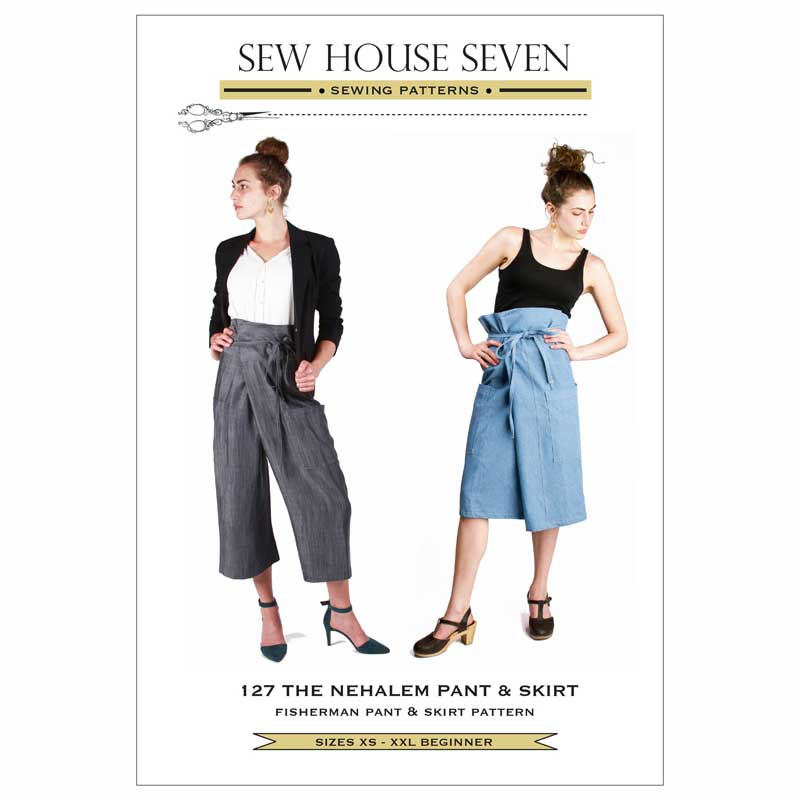Sew House Seven Nehalem Pant and Skirt Sewing Pattern