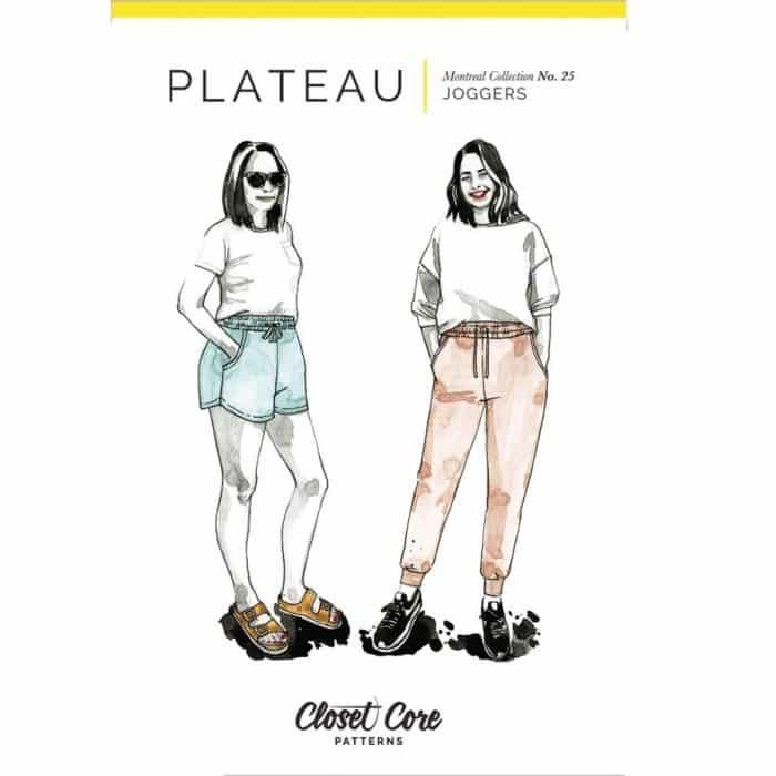 plateau joggers closet core patterns