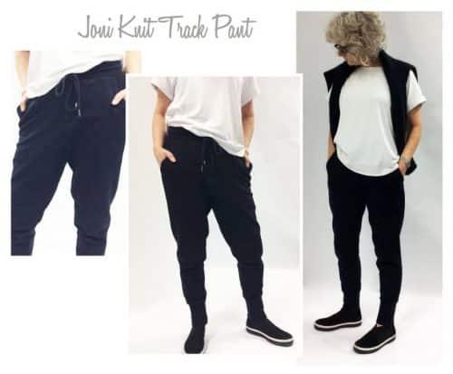 Joni Knit Track Pant - Style Arc Patterns