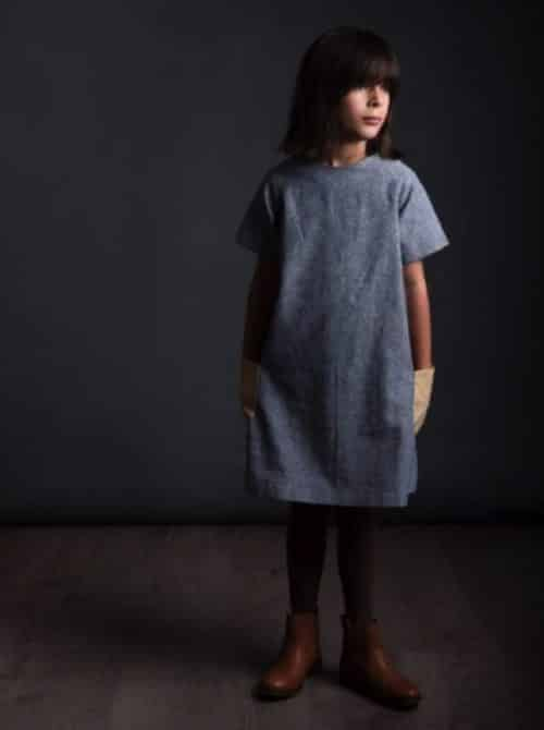 THE RAGLAN DRESS SEWING PATTERN - AGES 3-8 YEARS