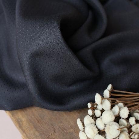 Dobby Night Viscose Dress Fabric by Atelier Brunette