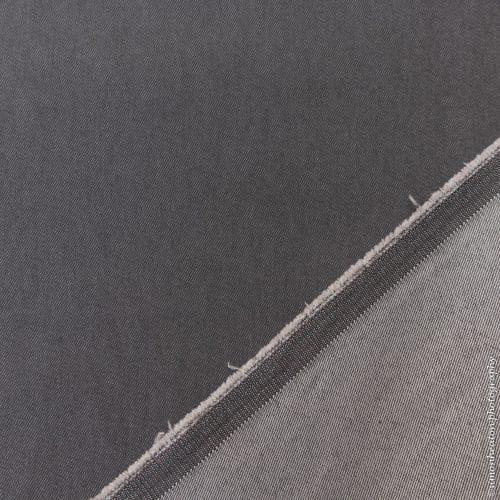 7 oz Stretch Denim Fabric - Pewter Grey
