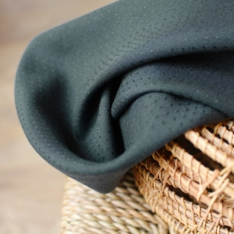 Dobby Smokey Viscose Dress Fabric by Atelier Brunette