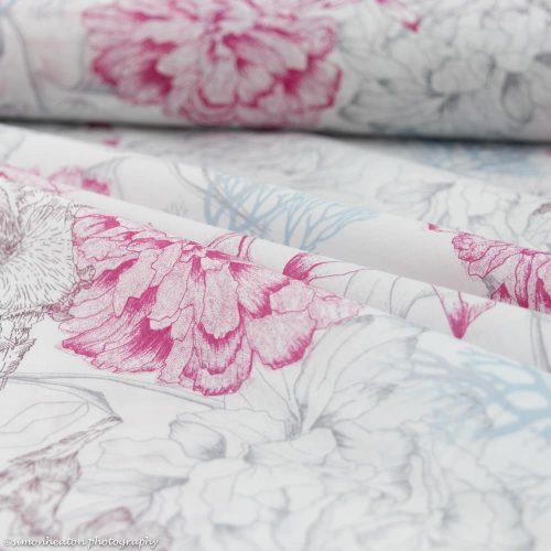 Organic Cotton Dress Fabric - Emi Voile