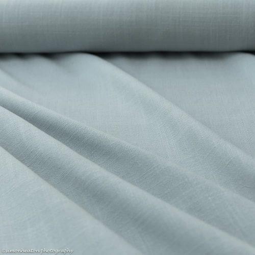 Viscose Linen Dress Fabric - Sea Green