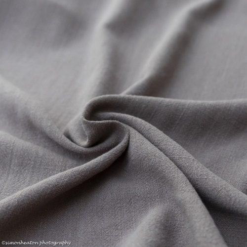 Viscose Linen Dress Fabric - Taupe