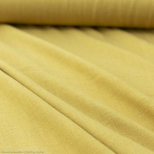 Viscose Linen Dress Fabric - Ochre