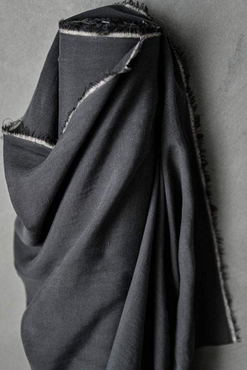 Tencel Linen Dress Fabric - Seattle Sky