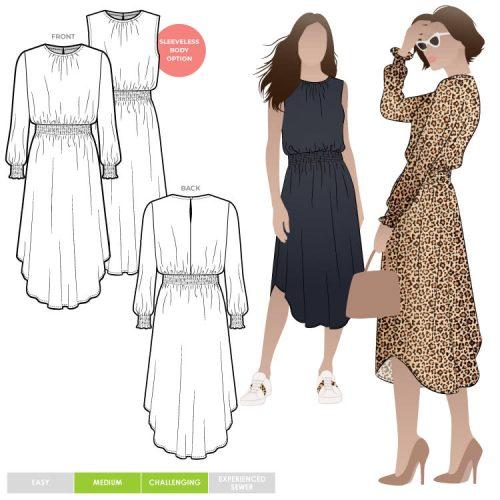 Asha Dress - Style Arc Patterns