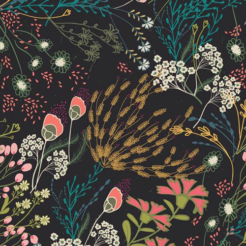 Meadow Umbra by Art Gallery Fabrics in Flannel